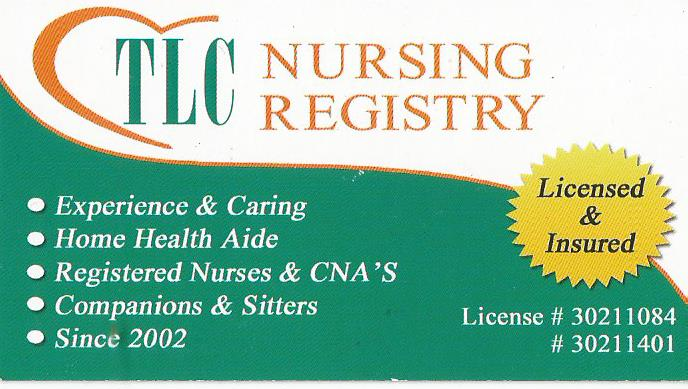 TLC NURSING REGISTRY  Nursing Registry - Hospice Care - Patient Care in Broward Florida - MOPASS