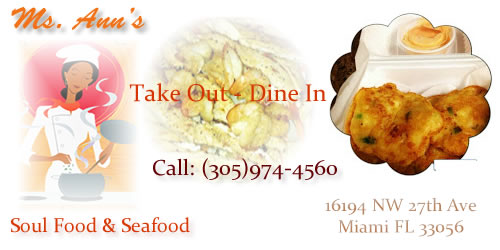Ms Ann's Soul Food and Seafood - MOPASS