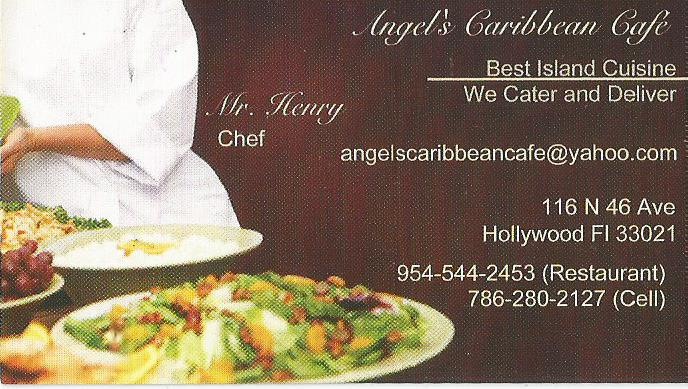 Angels Caribbean Cafe Restaurants in Hollywood Florida - MOPASS